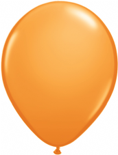 Qualatex Orange Balloons 25 Pack